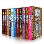 美国进口英文原版正版 Dork diaries 朵拉日记精装收藏版11册全套精盒装 Diary of a Wimpy女