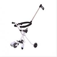 溜娃神车 超轻溜娃儿童手推三轮车2-3-5岁婴儿简易轻便可折叠三轮车五轮车