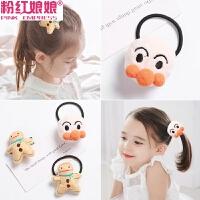 韩国儿童发绳发圈头绳不伤发饰品头饰女童扎头发橡皮筋小女孩发饰