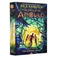 【中商原版】阿波罗的审判3:燃烧的迷宫 英文原版 Trials of Apollo 3 Burning Maze Ri