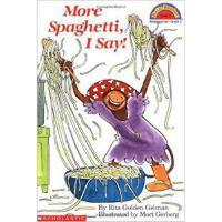 学乐我说再来点意大利面2级读本MORE SPAGHETTI, ISAY!进口原版2-3-6-8岁幼儿童启蒙认知早教绘本