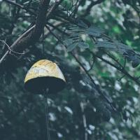 岩手南部铸铁风铃 富士山复古铁器铃铛 日式和风寺庙祈福挂饰礼品