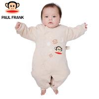 PWU1743060大嘴猴(Paul Frank)婴幼儿 冬季 长袖斜襟连身衣 纯棉连体衣