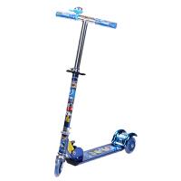 小丽明 XLM-2068三轮闪光铝合金儿童滑板车可折叠踏板车