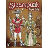 【预订】Steampunk Paper Dolls