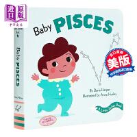 【中商原版】12星座宝宝书双鱼座 A Little Zodiac Book: Baby Pisces 低幼启蒙认知星座主