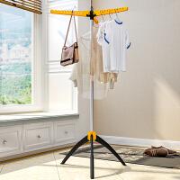 索尔诺实用晾衣架落地折叠阳台衣帽架晒衣架毛巾架尿布架晾晒架L1023