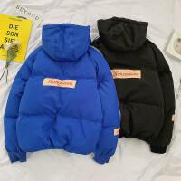 冬季保暖棉衣男士修身连帽外套韩版潮流学生棉服冬装新款帅气棉袄