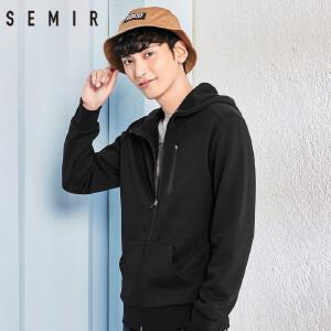森马卫衣男2018春季新款外套男士韩版潮流男装青年休闲帅气夹克