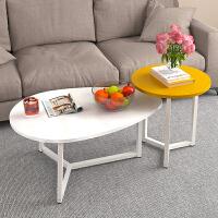 亿家达茶几客厅沙发简约现代北欧风宿舍创意边几家用卧室小圆桌子