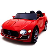 新款四驱大空间双座儿童电动车可坐人四轮遥控跑车男女幼宝宝摇摆车玩具车儿童节日礼物童车 红色