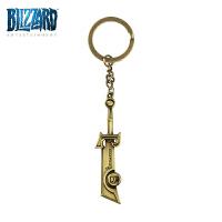 周边魔兽世界灰烬使者挂件钥匙链魔兽周边武器模型