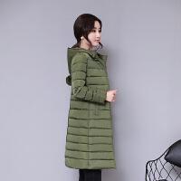 慈姑冬季加厚新款修身百塔羽绒时尚显瘦棉衣女中长款棉袄保暖外套