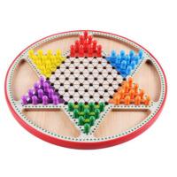 儿童桌面游戏玩具 儿童早教益智多功能数独棋跳棋二合一棋