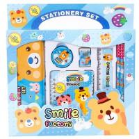 小学生铅笔盒文具7件套装儿童学习用品礼物幼儿园创意小礼品