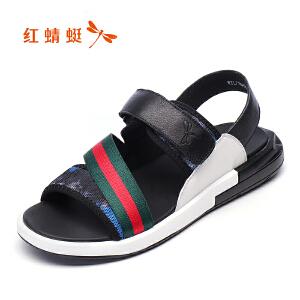 红蜻蜓男鞋男凉鞋WTL7164