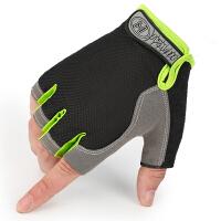 男女士骑行半指手套透气手套户外运动情侣健身手套