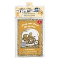 英文原版儿童书 Frog and Toad Together [With CD (Audio)] 青蛙和蟾蜍在一起(书