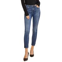 【网易严选3件3折】重返校园 女式侧边条纹牛仔裤