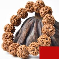 尼泊尔大金刚菩提子手串原籽文玩佛珠蜂窝双龙爆肉纹手链深度清理 以上