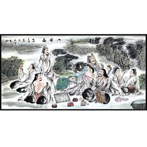 张松平(八仙图)中国美术家协会会员