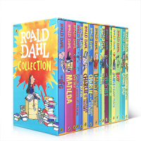 【全店300减100】新版罗尔德达尔英文原版全套Roald Dahl Collections 16册 罗尔德・达尔 新版