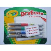 美国 [Crayola绘儿乐]4色易擦快干白板笔-细头 98-8629