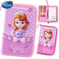 迪士尼 苏菲亚公主小学生铅笔袋文具盒儿童学习用具女童可爱文具袋