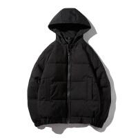 棉袄男士韩版面包服短款连帽棉衣男潮流学生加厚棉服冬季外套