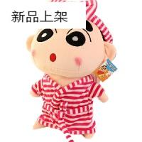 2018新品 毛绒玩具蜡笔小新公仔布娃娃玩偶大号抱枕送男友情人节女 大眼红