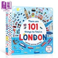 【中商原版】There Are 101 Things to Find in London 101件在伦敦发生的事 儿童早