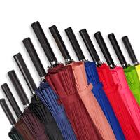 雨伞长柄车载个性创意纯色号男士女学生直柄伞