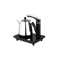 不锈钢电热水壶烧水壶办公室触屏自动上水壶抽水电茶炉 黑色