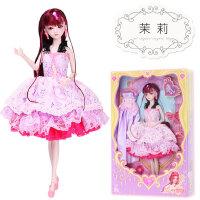 叶罗丽娃娃娃娃罗丽仙子低价夜萝莉29cm全套装冰公主芭比女孩玩具 茉莉 两衣一鞋
