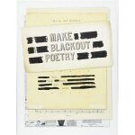 【中商原版】创意写诗工具:把文字空白处变成诗 英文原版 Make Blackout Poetry: Turn Thes