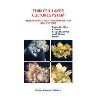 【预订】Thin Cell Layer Culture System: Regeneration and