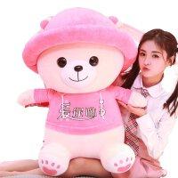 毛绒公仔娃娃送女生 可爱抱抱熊毛绒玩具泰迪熊猫公仔抱枕布娃娃小熊玩偶女孩生日礼物 可插手款
