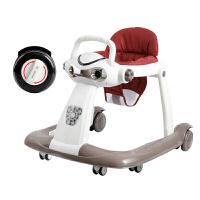 学步车多功能防侧翻6/7-18个月婴儿男宝宝手推可坐女孩幼儿童折叠