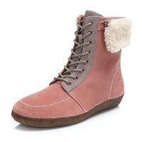 Hush Puppies/暇步士冬专柜同款牛皮革女休闲鞋W1M02DD6