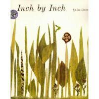 英文原版儿童书 Inch by Inch 一寸虫(凯迪克银奖,平装)