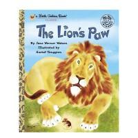 【89选5】英文原版绘本 The Lion's Paw 狮子脚上有根刺 常青藤爸爸推荐 兰登金色童书 儿童动物故事启蒙