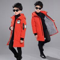 男童冬装2018新款棉衣韩版加厚中长款外套中大童棉袄儿童羽绒