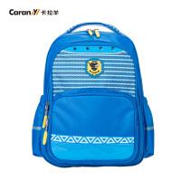 卡拉羊儿童书包男女童1-3-4-6年级学生书包韩版可爱双肩护脊小背包CX2594