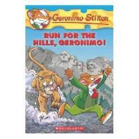 英文原版Run for the Hills, Geronimo!老鼠记者47