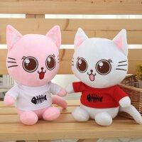可爱猫咪毛绒玩具公仔布娃娃儿童生日礼物少女心萌女孩超抱枕
