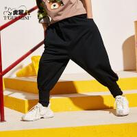【2件3折到手价:71.7元】小虎宝儿男童运动裤儿童休闲长裤子2020春装新款中大童洋气童装潮