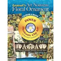【预订】Grasset's Art Nouveau Floral Ornament [With CDROM]