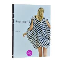 Drape Drape 3 Hisako Sato 悬垂披风褶皱剪裁手作 时尚服装设计书籍
