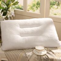 富安娜出品 圣之花柔美亲肤短毛绒枕头枕芯 精致提花面料枕芯