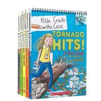 英文原版 HILDE CRACKS THE CASE #1-2-3-4-5学乐出版小学课外读物HERO DOG! BE